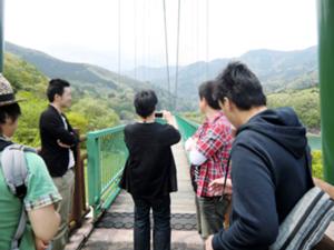 もみじ谷大吊り橋